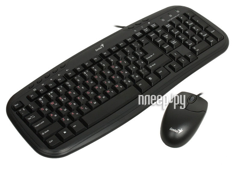 Набор Genius KB-M200 Black PS/2