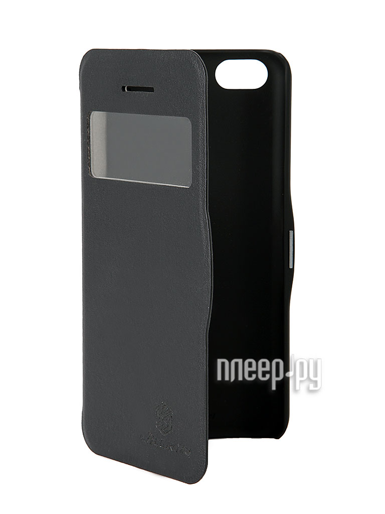 Аксессуар Чехол Nillkin V Series for iPhone 5C Black  Pleer.ru  449.000