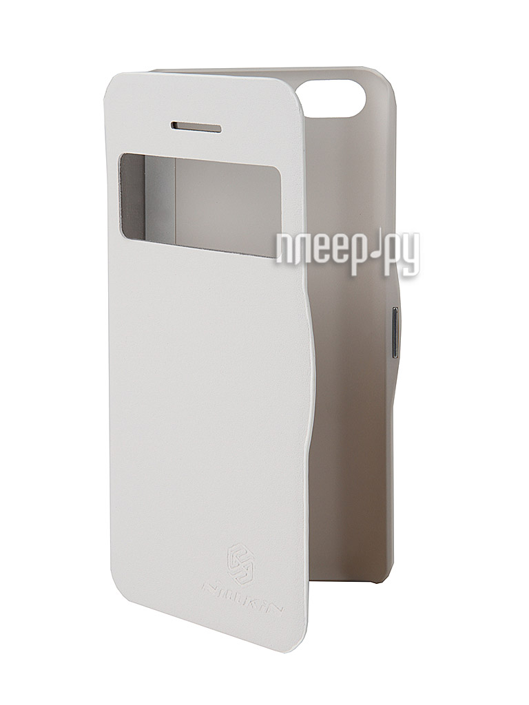 Аксессуар Чехол Nillkin V Series for iPhone 5C White  Pleer.ru  449.000