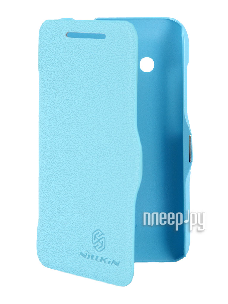 Аксессуар Чехол HTC Desire 200 Nillkin Fresh Series Blue  Pleer.ru  399.000