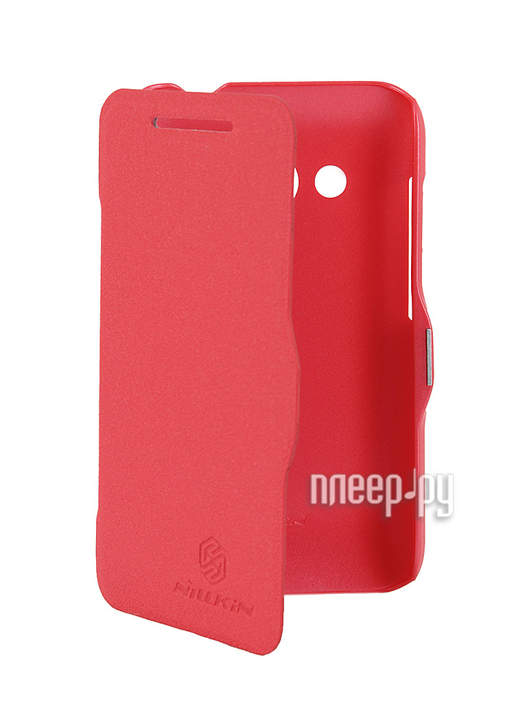 Аксессуар Чехол HTC Desire 200 Nillkin Fresh Series Red  Pleer.ru  399.000
