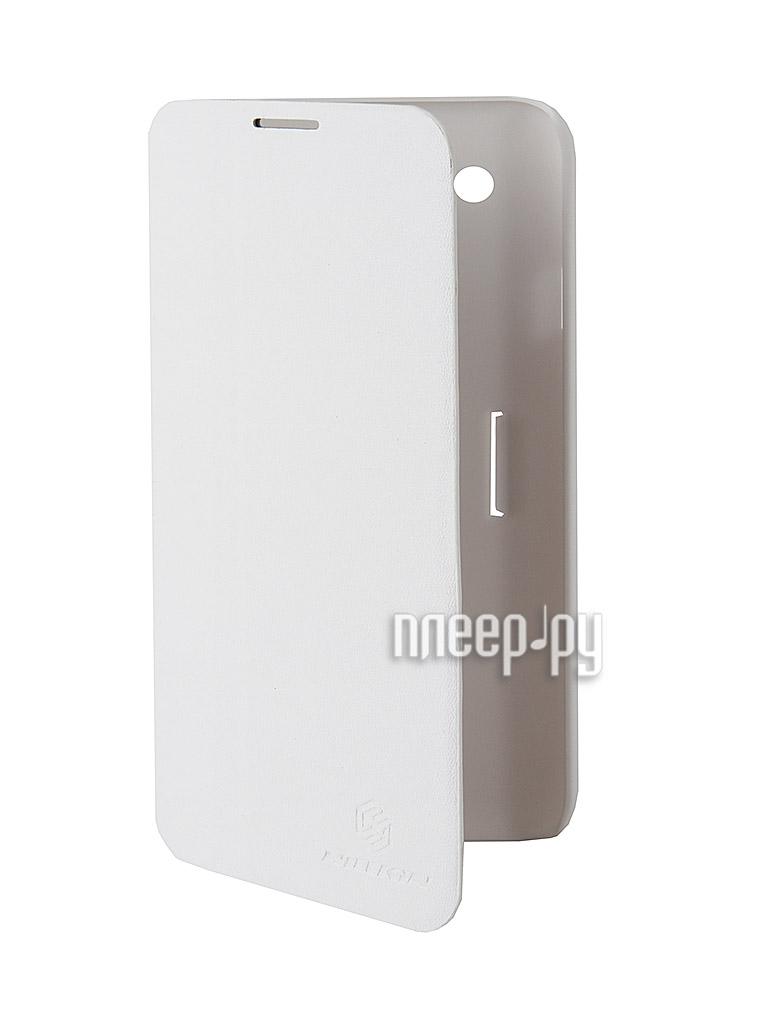 Аксессуар Чехол LG Optimus G Pro E988 / E980 Nillkin V Series Leather Case White  Pleer.ru  423.000