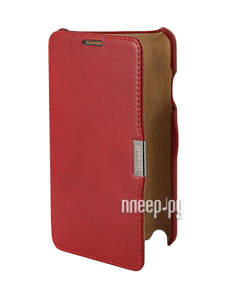Аксессуар Чехол Samsung GT-N9000 Galaxy Note 3 I-Carer Luxury Series  Pleer.ru  600.000