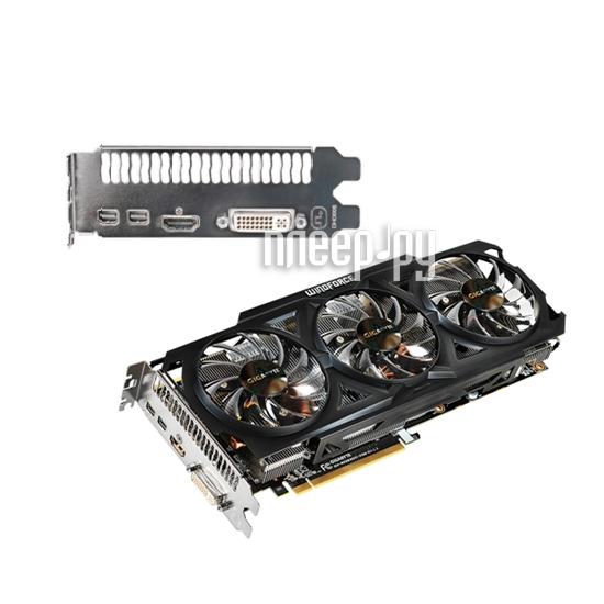 Видеокарта GIGABYTE Radeon R9 280X 1000Mhz PCI-E 3.0 3072Mb 6000Mhz 384 bit DVI HDMI HDCP  Pleer.ru  10357.000