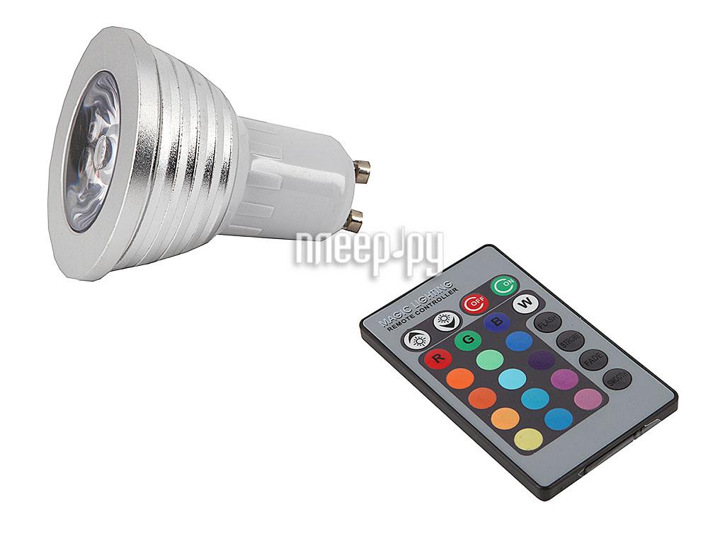 Лампочка Aikitec Lampkit RGB-01-3W-GU10  Pleer.ru  384.000