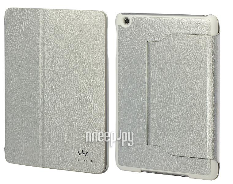 Аксессуар Чехол-подставка Ice Mile for Apple iPad mini Silver  Pleer.ru  950.000