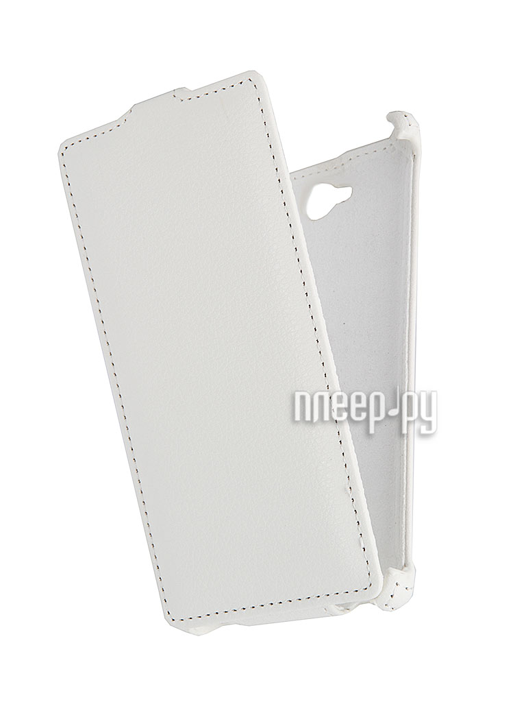 Аксессуар Чехол Sony S39h Xperia C Ainy / Aksberry / iBox Premium White  Pleer.ru  1017.000