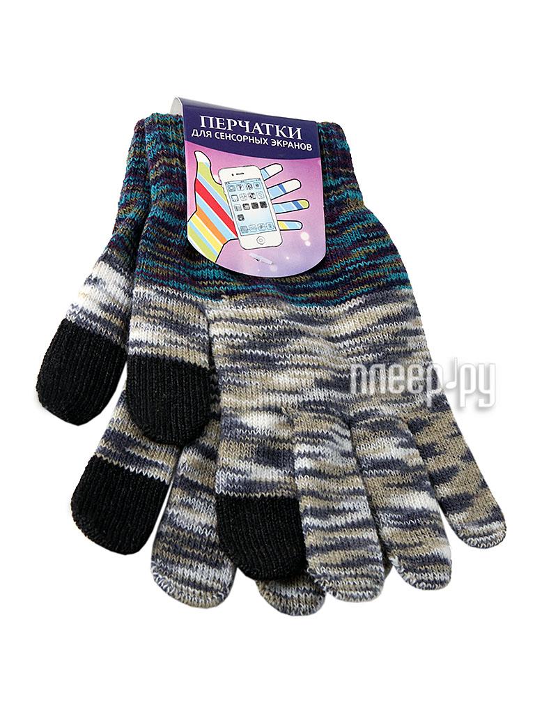 Теплые перчатки для сенсорных дисплеев Harsika J105 р.45.2 Grey