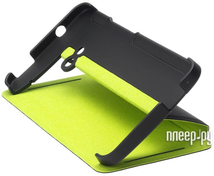 Аксессуар Чехол HTC One HC V841BG Black-Green  Pleer.ru  1348.000