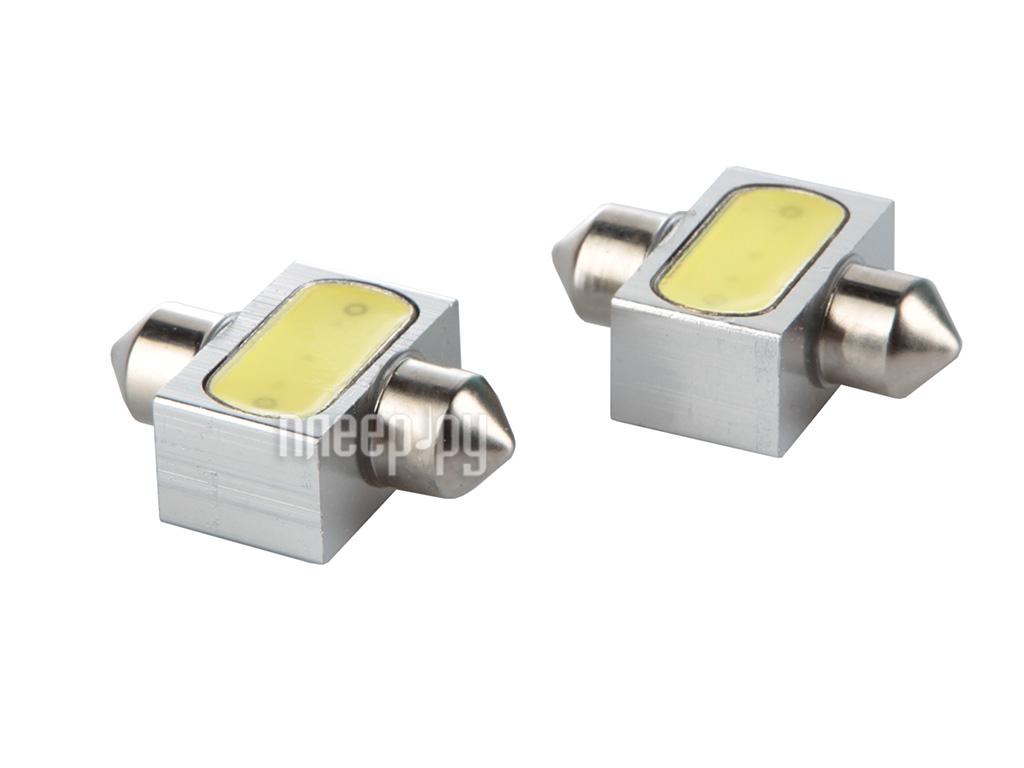 Светодиодная лампа Glare of Light C5W-31mm-1.5W 2200 (2 штуки)  Pleer.ru  305.000