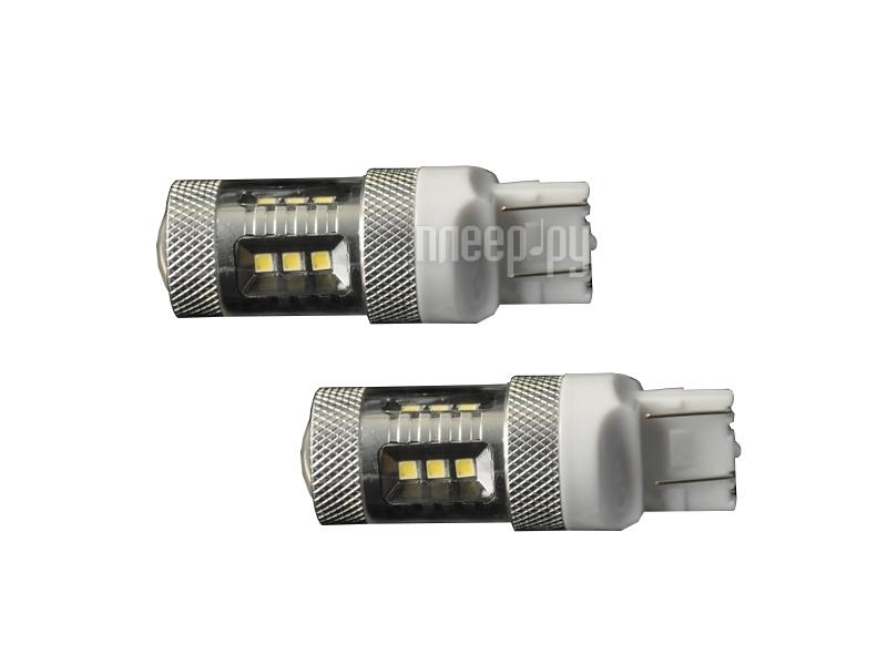 Светодиодная лампа Glare of Light 7443 (W21/5W) 15W Samsung 1906 (2 штуки)  Pleer.ru  839.000