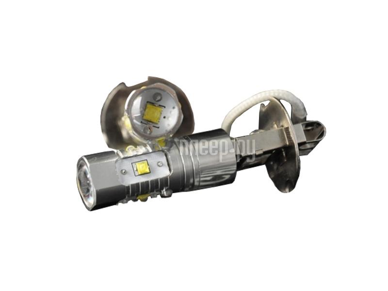 Светодиодная лампа Glare of Light H3 25W Cree 0302 (2 штуки)  Pleer.ru  1031.000