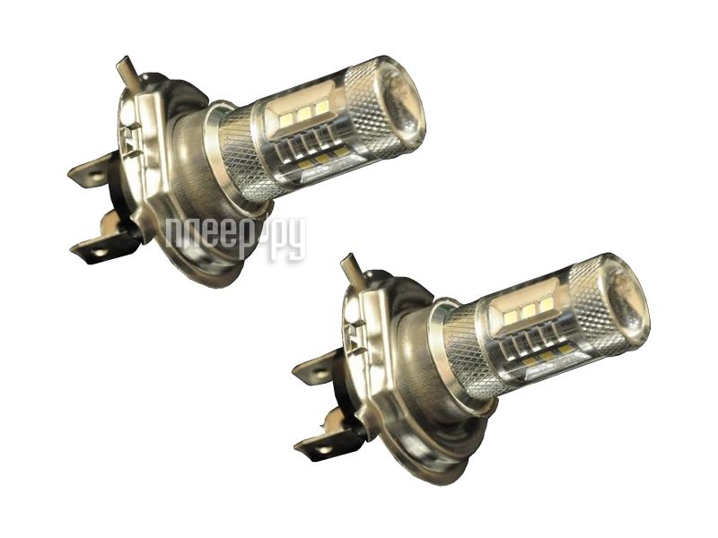 Светодиодная лампа Glare of Light H4 22W SaCR 0401 (2 штуки)  Pleer.ru  959.000