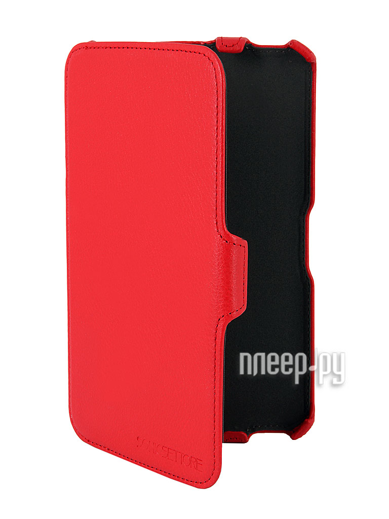 Аксессуар Чехол Galaxy Tab 3 7.0 T2100/T2110 SonicSettore Seoul Red 371076  Pleer.ru  850.000