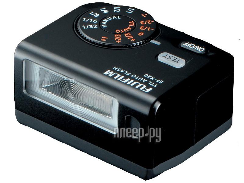 Вспышка FujiFilm EF-X20 TTL Flash  Pleer.ru  7216.000