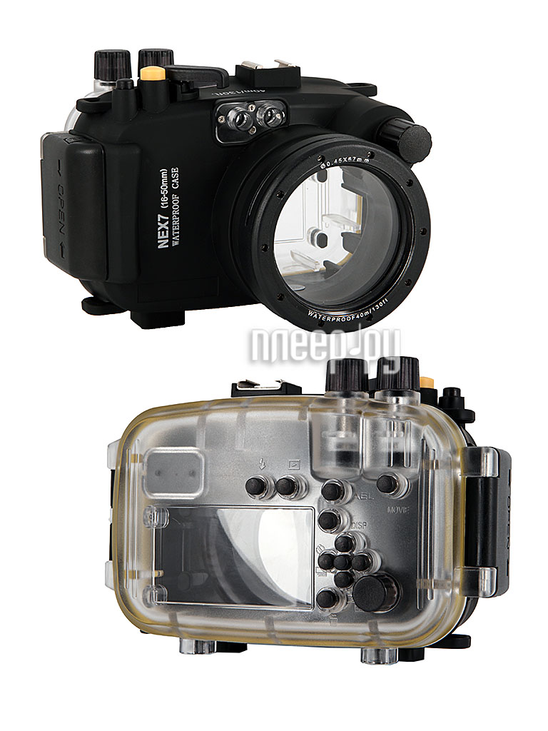 Аквабокс Meikon NEX-7 for Sony NEX-7 Kit 16-50 mm