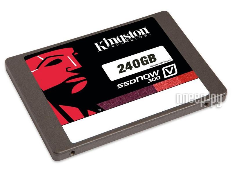 Жесткий диск 240Gb Kingston SV300S3N7A/240G  Pleer.ru  5179.000