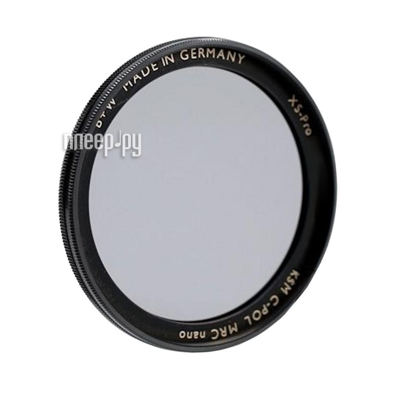 Светофильтр B+W AUCM Kaesemann XS-Pro Circular Polarizer MRC Nano 82mm (1066401)  Pleer.ru  7778.000