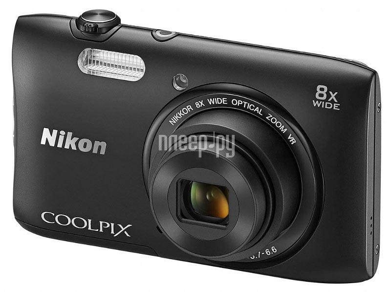 Фотоаппарат Nikon S3600 Coolpix Black  Pleer.ru  3738.000