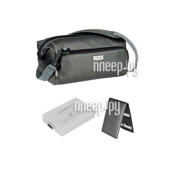 Сумка Canon DVK-804 Accessory Kit - набор аккумулятор BP-110  Pleer.ru  3567.000
