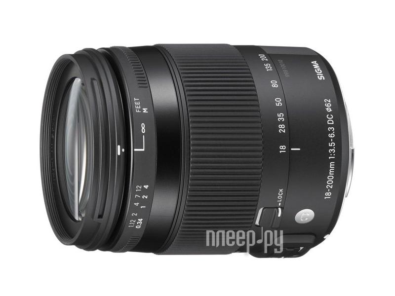 Объектив Sigma Canon AF 18-200 mm F/3.5-6.3 DC MACRO OS HSM Contemporary