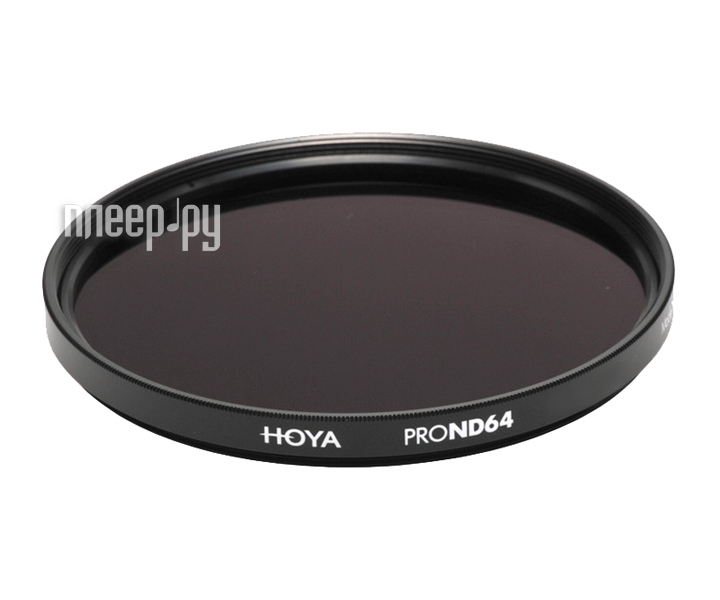 Светофильтр HOYA Pro ND64 49mm  Pleer.ru  1577.000