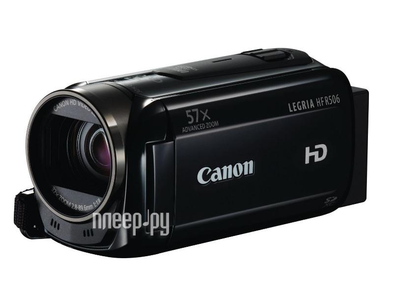 Видеокамера Canon R506 Legria HF Black*  Pleer.ru  8597.000