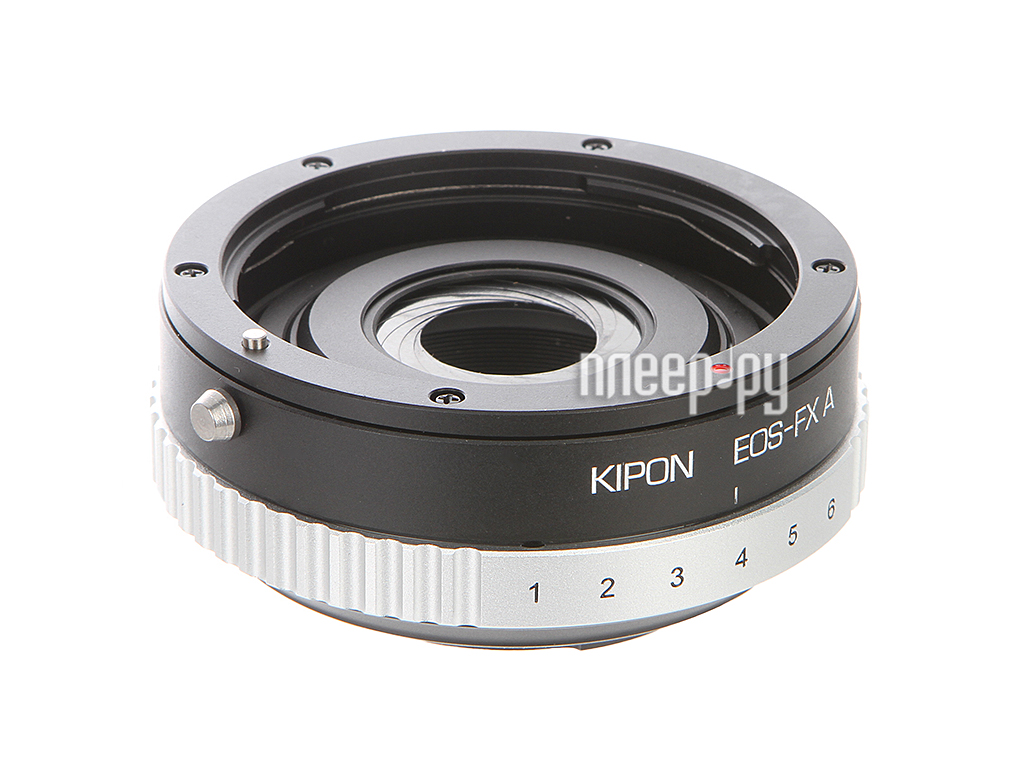 Переходное кольцо Kipon Adapter Ring with aperture Canon EOS - Fuji X  Pleer.ru  3557.000