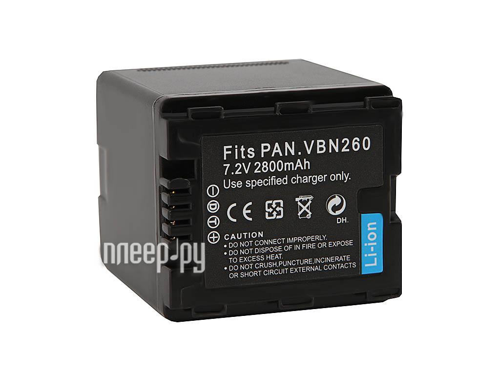 Аккумулятор Fujimi VW-VBN260  Pleer.ru  897.000