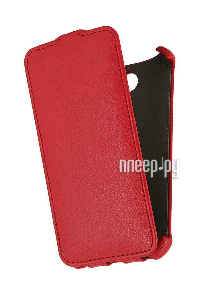 Аксессуар Чехол HTC Desire 300 Time Norton Red  Pleer.ru  188.000