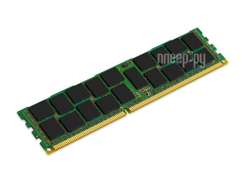 Модуль памяти Kingston DDR3 DIMM 1600MHz PC3-12800 ECC Reg CL11 - 16Gb KVR16R11D4/16