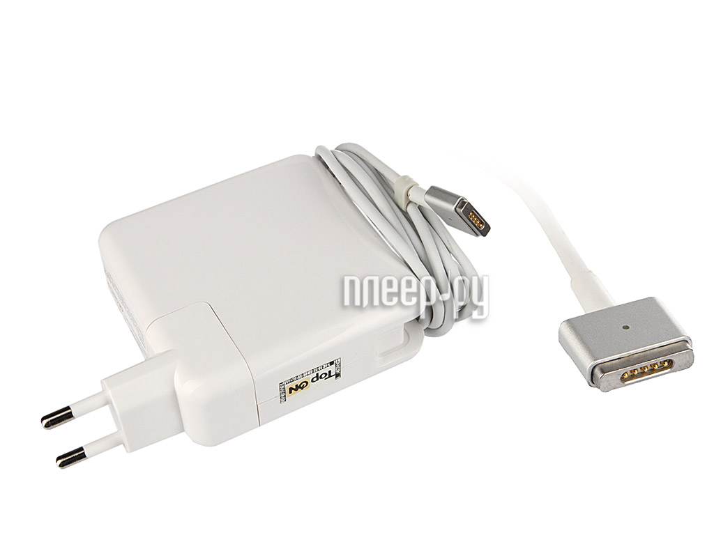 Блок питания TopON TOP-AP205 14.5V 45W for MacBook Air Magsafe 2  Pleer.ru  1450.000