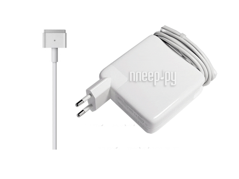 Блок питания TopON TOP-AP204 18.5V 85W for MacBook Air 2012 / Pro Retina Magsafe 2  Pleer.ru  1550.000