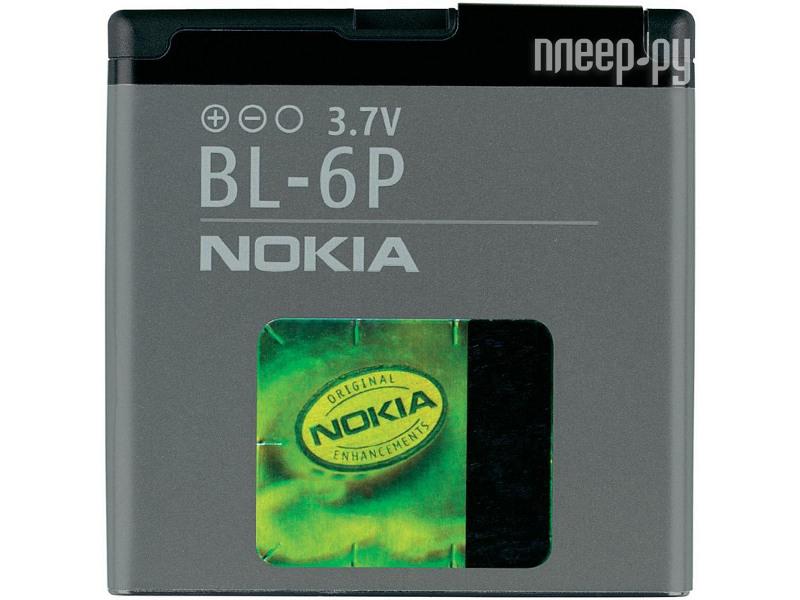 Аксессуар Аккумулятор Nokia BL-6P 830 mAh  Pleer.ru  558.000