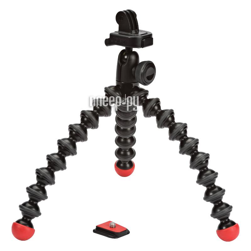 Штатив Joby GorillaPod Action Tripod with Mount for GoPro Black/Red  Pleer.ru  1778.000