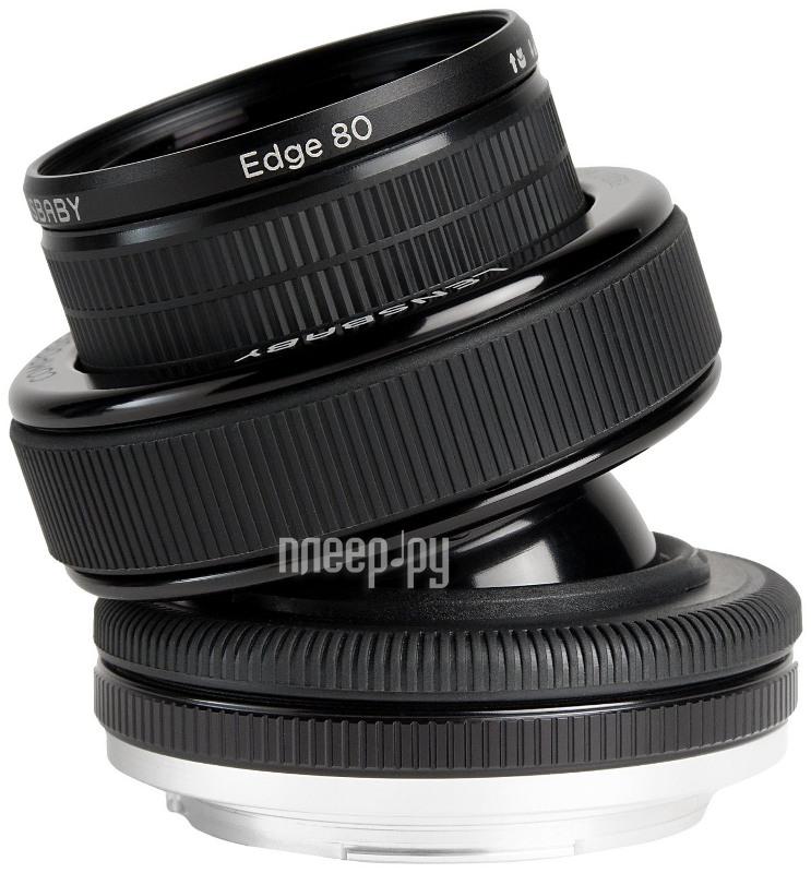 Объектив Lensbaby Composer PRO w/Edge 80 for Nikon LBCP80N  Pleer.ru  17894.000