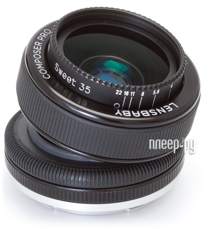 Объектив Lensbaby Composer PRO w/Sweet 35 for Micro 4/3 LBCP35M  Pleer.ru  16119.000