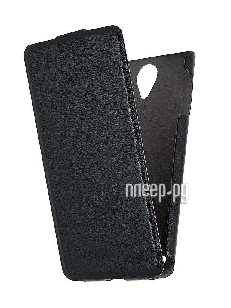 Аксессуар Чехол Lenovo S890 Scobe Leather Edition Black