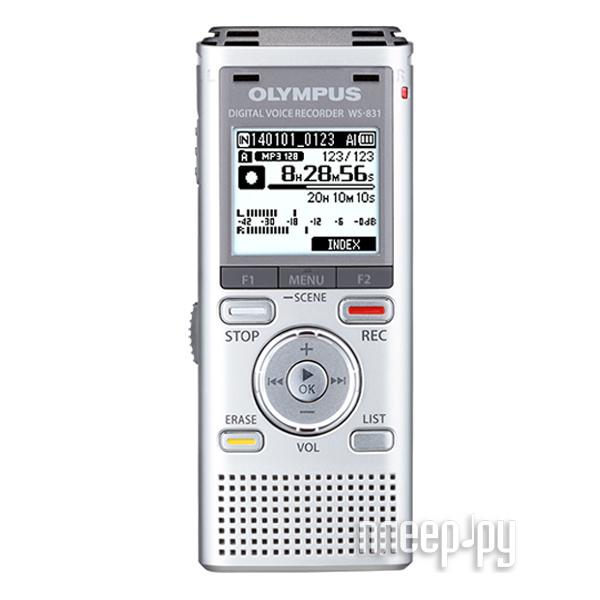 Диктофон Olympus WS-831  Pleer.ru  3517.000
