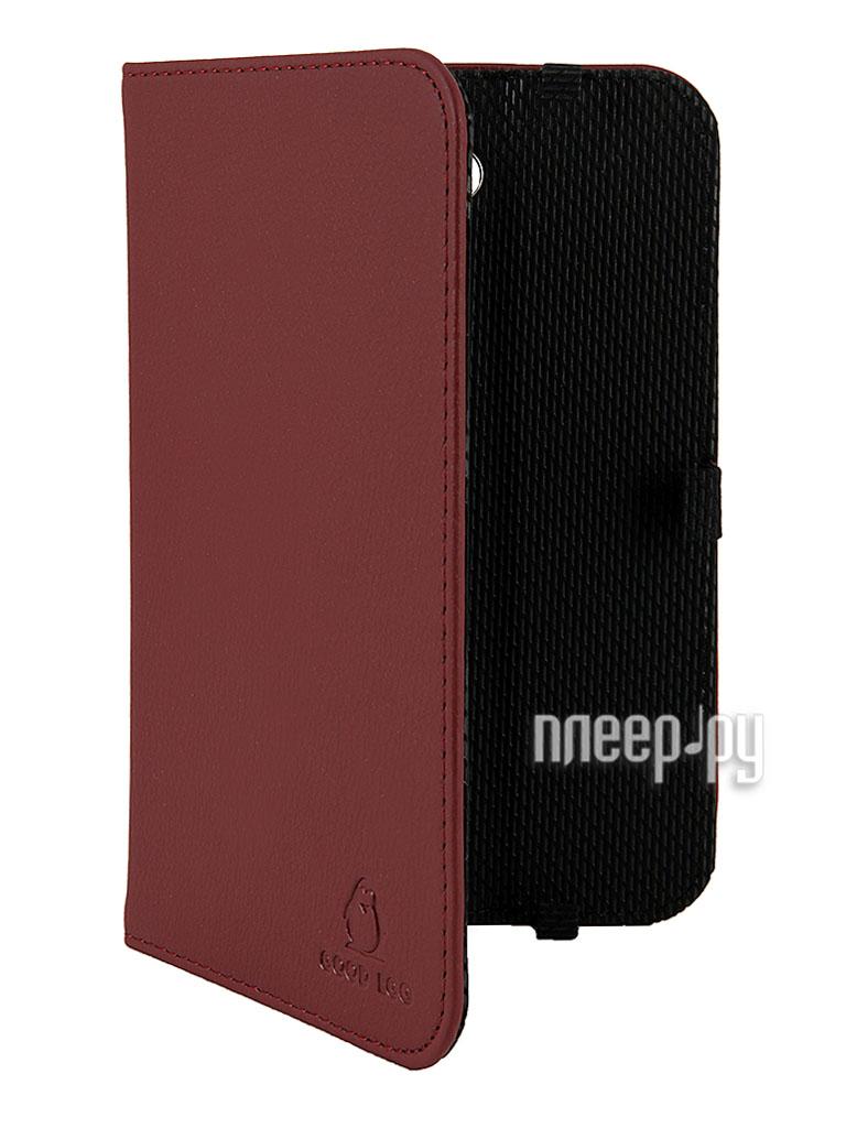 Аксессуар Чехол Galaxy Tab 3 T2100 / T2110 Good Egg Lira кожаный Bordo