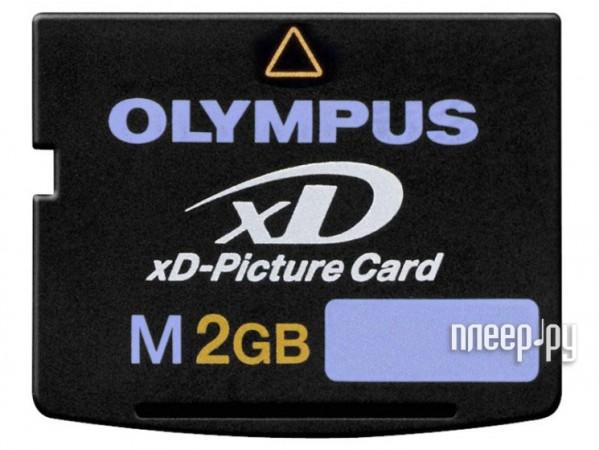 Карта памяти 2Gb - Olympus, Panorama & ART 3D Function, High Speed - xD-Picture M-XD2GM  Pleer.ru  817.000