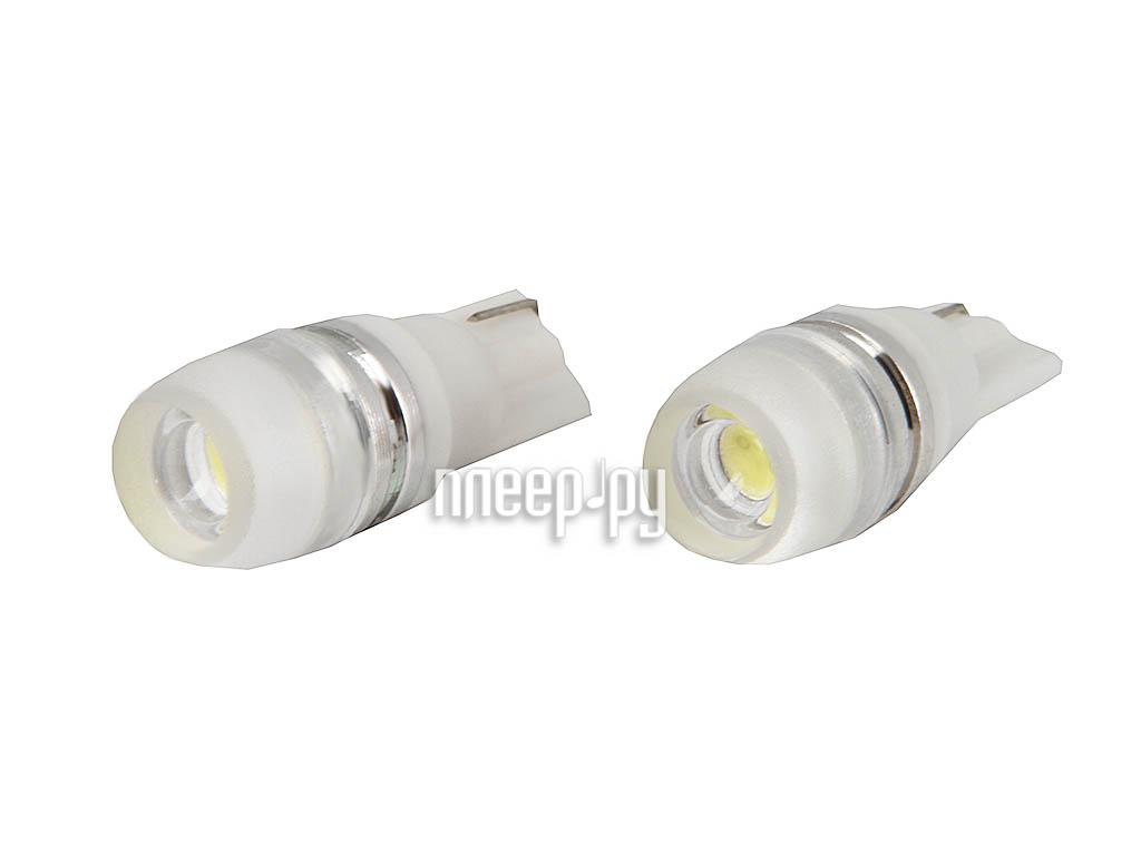 Светодиодная лампа Glare of Light T10 (W5W) 1.5W Flood Lens 1502 (2 штуки)  Pleer.ru  220.000