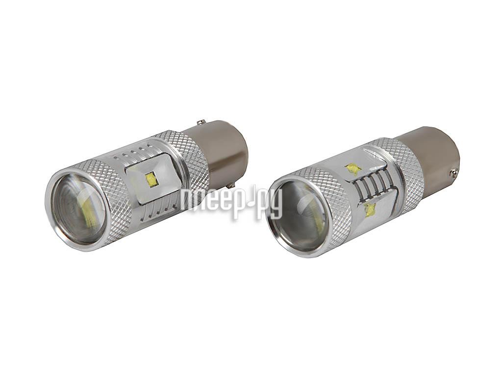 Светодиодная лампа Glare of Light Canbus 1156 (P21W) 30WCREE 1610 (2 штуки)  Pleer.ru  1176.000