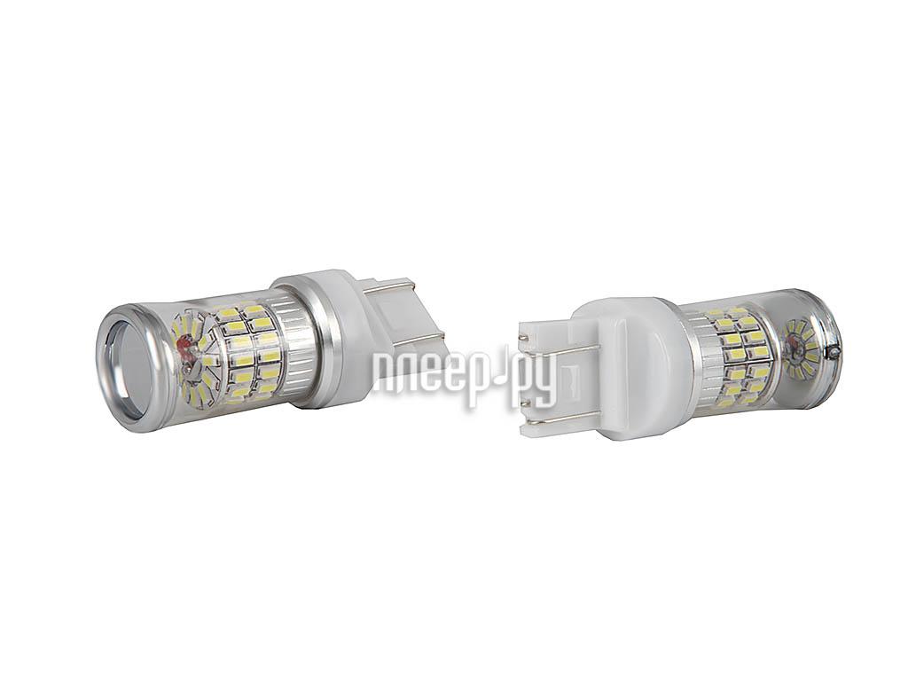 Светодиодная лампа Glare of Light 7443 (W21/5W) 48SMDflood Lens 1907 (2 штуки)  Pleer.ru  578.000