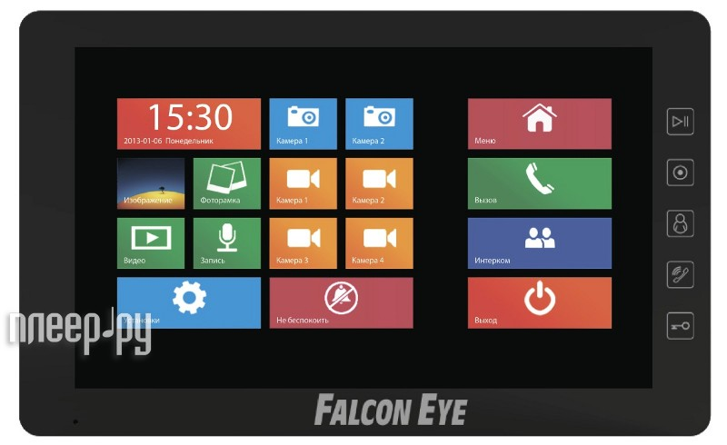 Видеодомофон Falcon Eye FE-101WT  Pleer.ru  11397.000