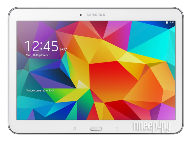 Планшет Samsung SM-T531 Galaxy Tab 4 10.1 - 16Gb 3G SM-T531NZWASER White Quad Core 1.2 GHz/1536Mb/16Gb/Wi-Fi/Bluetooth/3G/Cam/10.1/1280x800/Android 4.4  Pleer.ru  13024.000