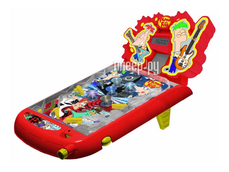 Настольная игра IMC Toys Пинбол Финес и Ферб 460027  Pleer.ru  910.000