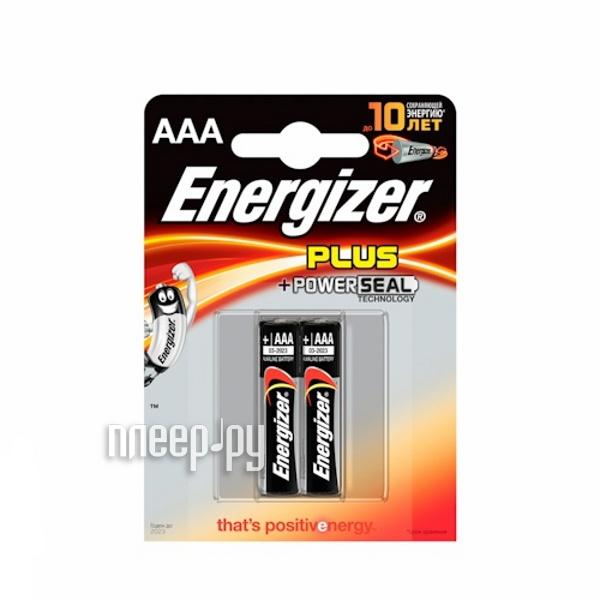 AAA - Energizer Plus LR03/E92 FSB2 (2 штуки)  Pleer.ru  83.000