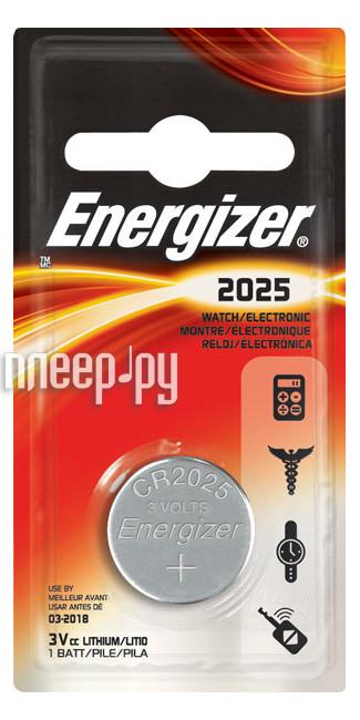 Батарейка CR2025 - Energizer Miniature Enr Lithium PIP1 (1 штука)