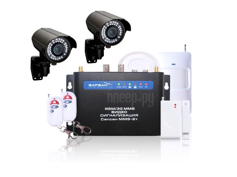 Видеонаблюдение Sapsan 3G CAM 2 камеры, уличное исполнение  Pleer.ru  13947.000